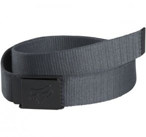 Pásek Fox Mr. Clean Web Belt - Charcoal