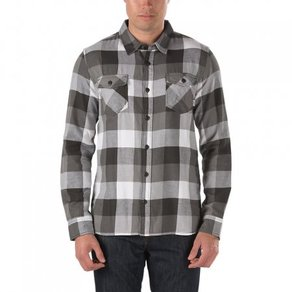 Košile Vans Box Flannel Shirt - Pirate Black/Graphite