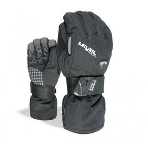 Snowboardové Rukavice Level Half Pipe Gore-Tex - Black