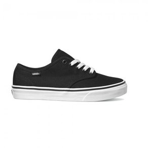 Boty Vans Camden Stripe (Canvas) - Black/White
