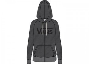 Mikina Vans Duck Dive Zip Hoodie - Black Heather