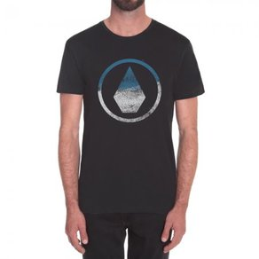 Tričko Volcom Canvas Stone - Black