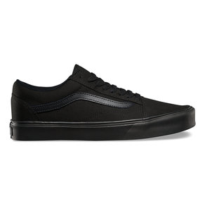 Boty Vans Old Skool LITE + (suede/canvas) - Black/Black