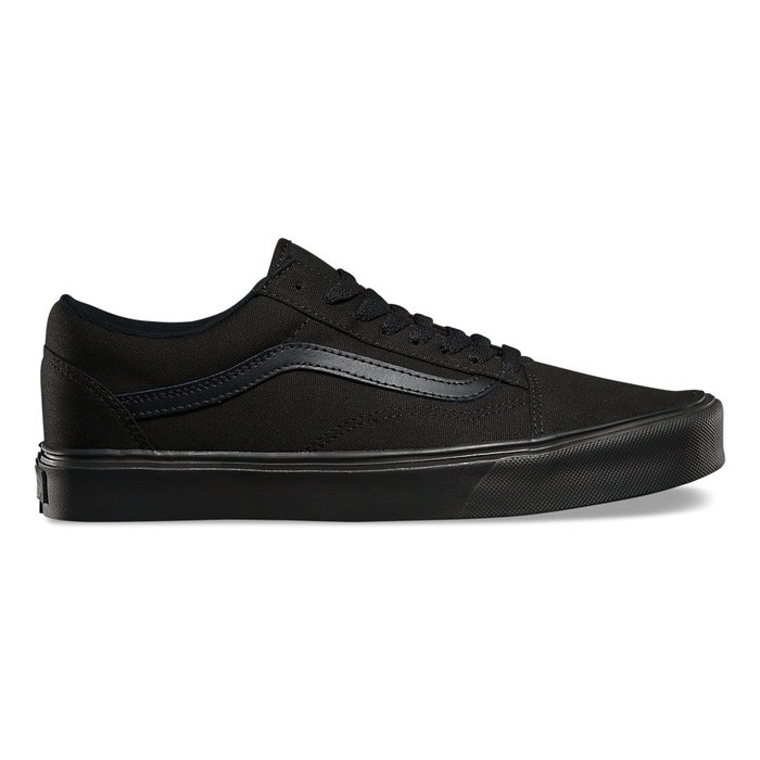 Boty Vans Old Skool LITE + (suede/canvas) - Black/BlackBoty Vans Old Skool Lite - Black/Black