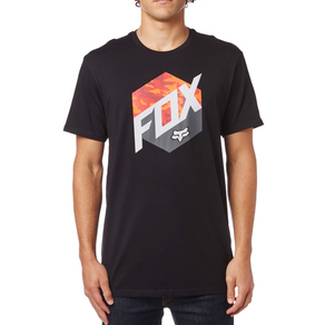 Tričko Fox Kasted Tee - Black