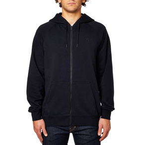 Mikina Fox Legacy Zip - Black