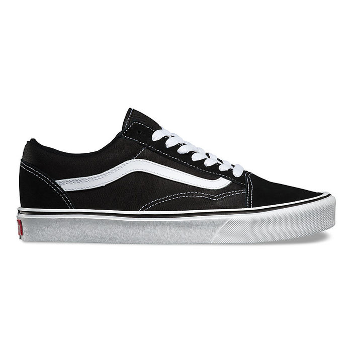 Boty Vans Old Skool LITE + (suede/canvas) - Black/WhiteBoty Vans Old Skool Lite - Black/White
