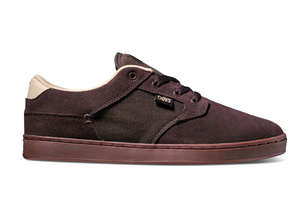 Boty DVS Quentin - Chocolate Suede