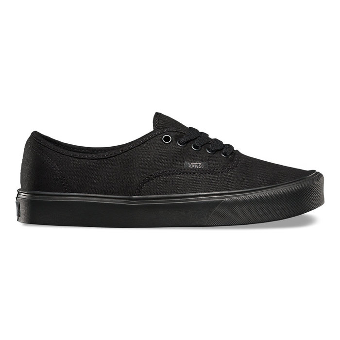 Boty Vans Authentic LITE + (canvas) - Black/BlackAuthentic LITE - Black/Black