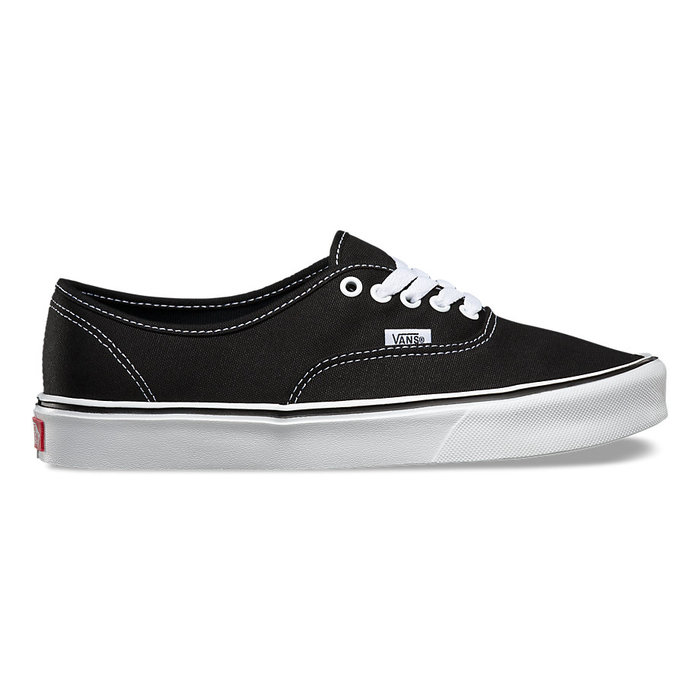 Boty Vans Authentic LITE + (canvas) - Black/WhiteAuthentic LITE - Black/White