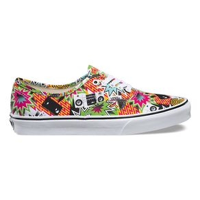 Boty Vans Authentic (Freshness) - Mixed Tape/True White