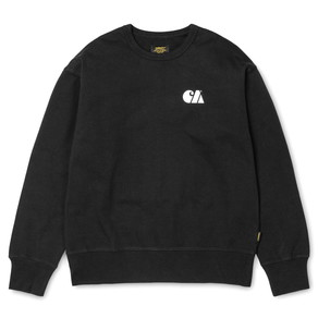 Mikina Carhartt WIP Military Training Sweat - Black/White