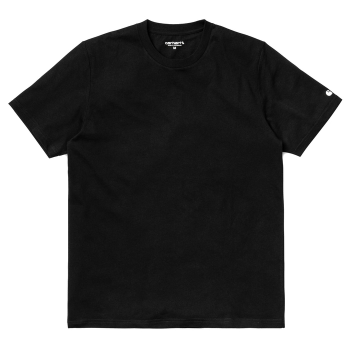 Tričko Carhartt WIP S/S Base T-Shirt - Black/WhiteCarhartt Base T-shirt - Black