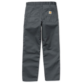 Kalhoty Carhartt WIP Simple Pant - Denver - Blacksmith - Rinsed