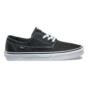Boty Vans Brigata (Washed Canvas) - Pirate Black/White