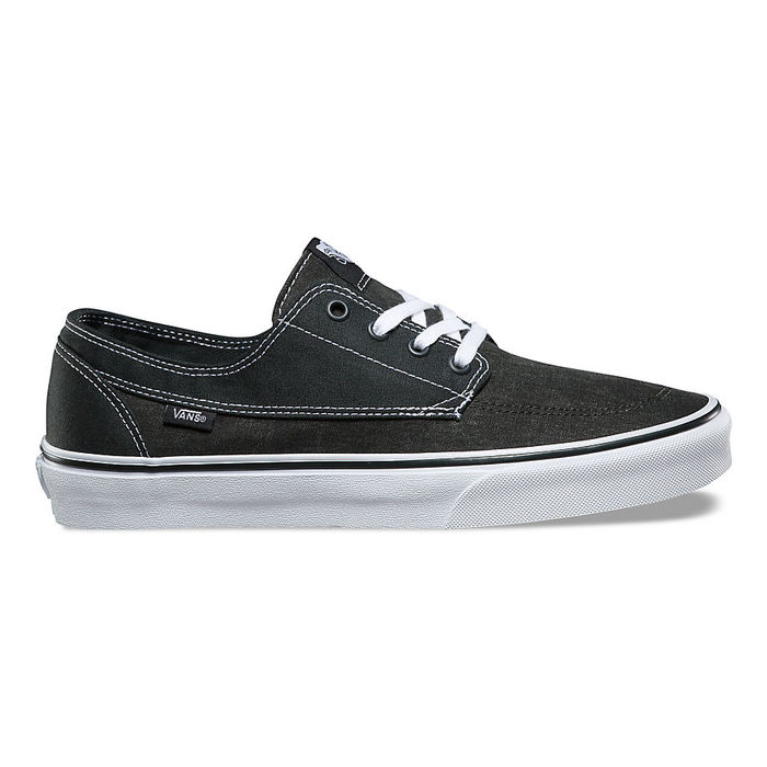 Boty Vans Brigata (Washed Canvas) - Pirate Black/WhiteVans Brigata - Pirate black/white