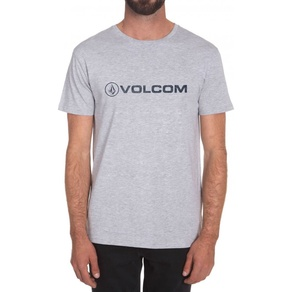 Tričko Volcom Euro Pencil - Heather Grey