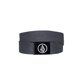 Pásek Volcom Circle Web Belt - Charcoal Heather