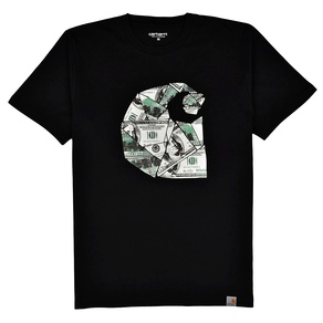 Tričko Carhartt WIP Bill C S/S T-Shirt - Black/Multicolor