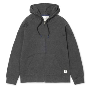 Mikina Carhartt WIP Hooded Holbrook LT Jacket - Black Noise Heather