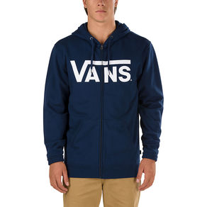 Mikina Vans Classic Zip Hoodie - Dress Blues/Bright White