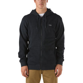 Mikina Vans Core Basics Zip Hoodie - Black Heather