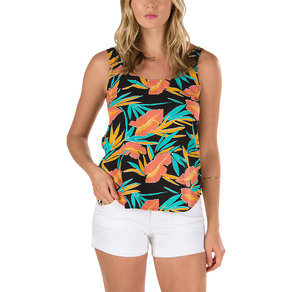 Tílko Vans Freshman Tank Top - Black Tropical