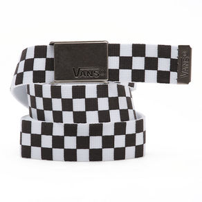 Pásek Vans Deppster Web Belt - Black/White