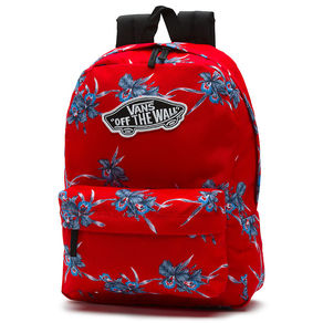 Batoh Vans Realm Backpack - Tomato Hawaian