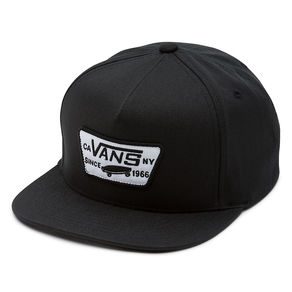 Kšiltovka Vans Full Patch Snapback - True Black