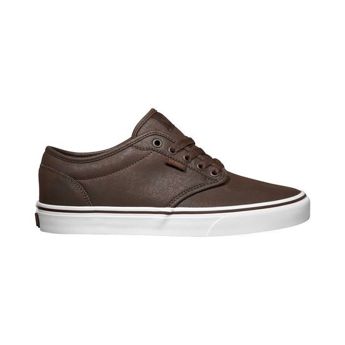 Boty Vans Atwood (Buck leather) - Espresso/WhiteVans Atwood