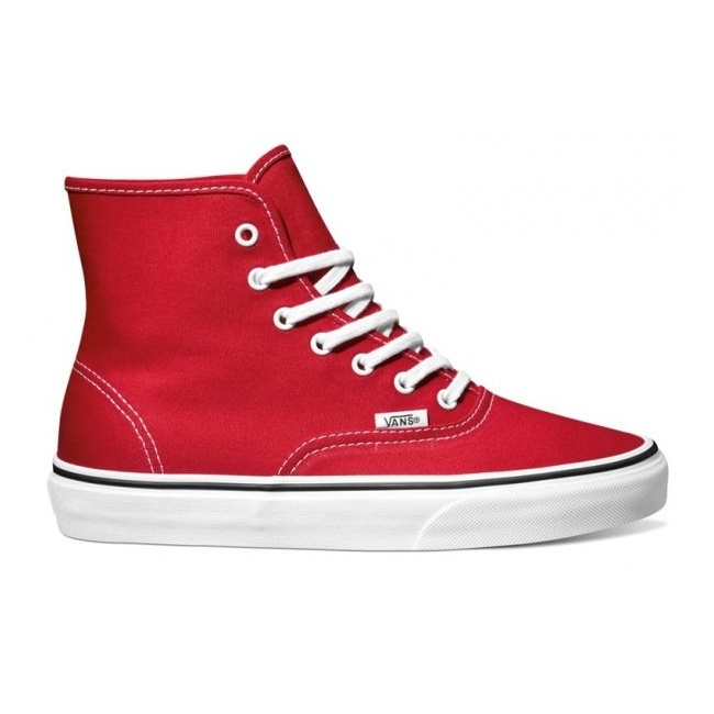 Boty Vans Authentic Hi - True RedAuthentic Hi