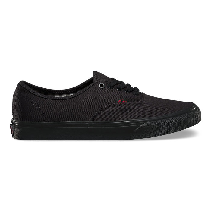 Boty Vans Authentic (Twill Gingham) - Black/BlackVans Authentic - Twill Gingham