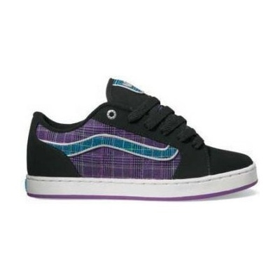 Boty Vans Darla - (Plaid) BlackVans Mix Old