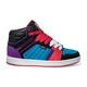 Boty Vans Callie Hi - (Stripe) Black/Purple/RedVans Mix Old