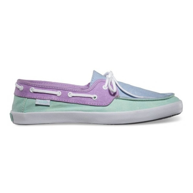 Boty Vans Chauffette - (Tri Tone) Crystal Blue/Sheer LilacVans Mix Old