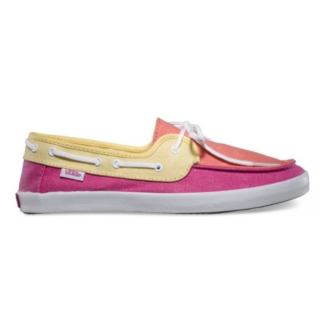 Boty Vans Chauffette - (Tri Tone) Coral/Fuchsia PurpleVans Mix Old