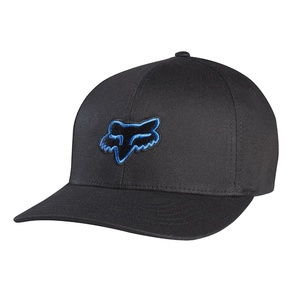 Kšiltovka Fox Legacy Flexfit Hat - Black/Blue