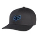 Kšiltovka Fox Legacy Flexfit Hat - Black/BlueKšiltovka Fox - mix