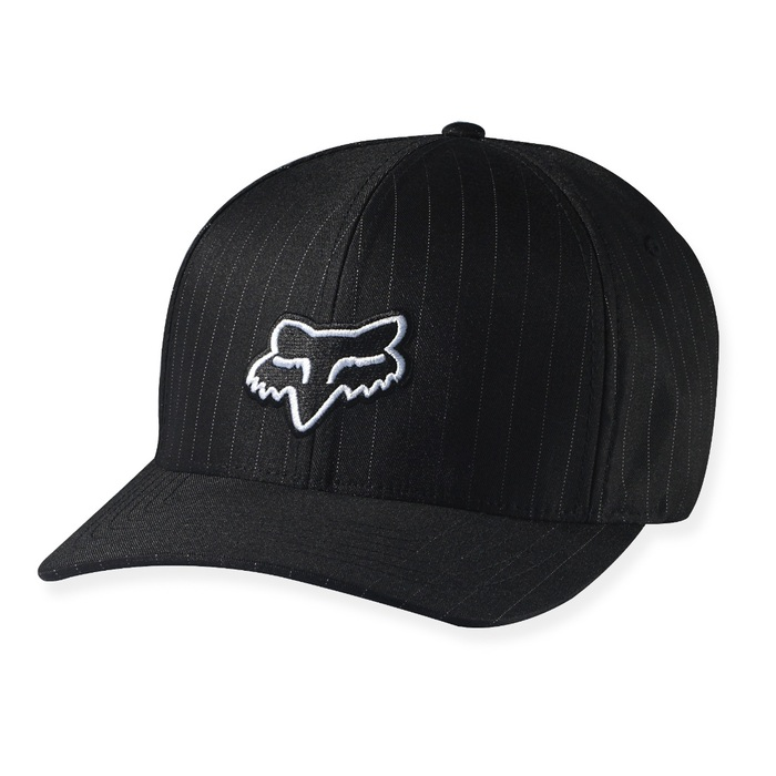 Kšiltovka Fox Legacy Flexfit Hat - Black PinstripeKšiltovka Fox - mix