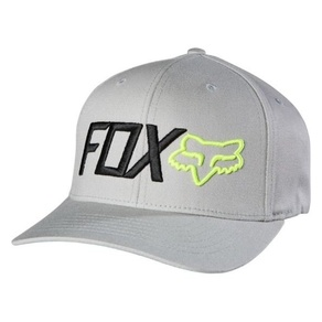 Kšiltovka Fox Scathe Flexfit hat - Grey