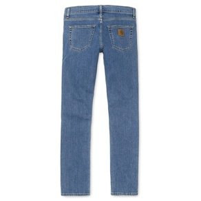 Kalhoty Carhartt WIP Rebel Pant - Spicer - Blue - Stone Washed