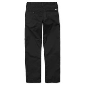 Kalhoty Carhartt WIP Station Pant - Dunmore - Black - Rinsed