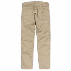 Kalhoty Carhartt WIP Skill Pant - Cortez - Leather - Rinsed