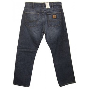 Kalhoty Carhartt WIP Western Pant - Rancho - Blue - Vintage Washed