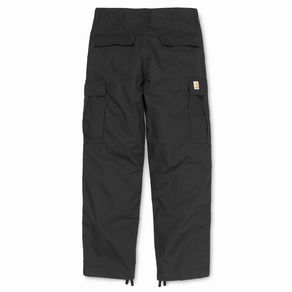 Kalhoty Carhartt WIP Cargo Pant - Columbia Ripstop - Black - Rinsed