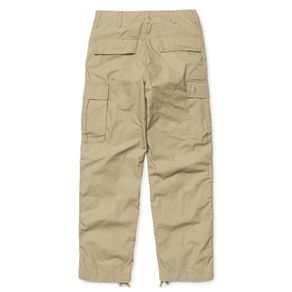 Kalhoty Carhartt WIP Cargo Pant - Columbia Ripstop - Leather - Rinsed