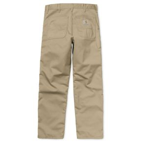 Kalhoty Carhartt WIP Simple Pant - Denver - Leather - Rinsed