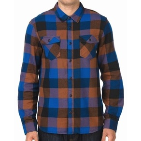 Košile Vans Box Flannel - Classic Blue/Black/Kindling