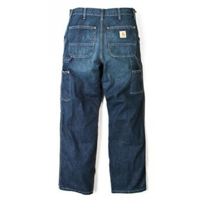Kalhoty Carhartt WIP Single Knee Pant - Fremont - Blue - Stone Washed